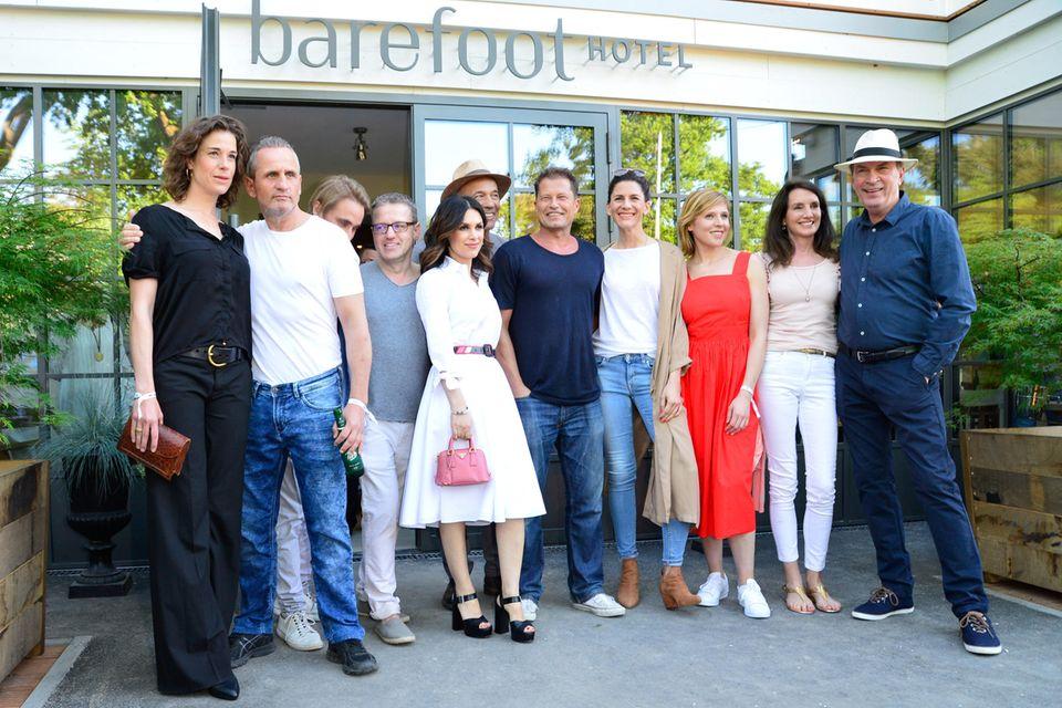 """Til Schweiger eröffnet am 26. Mai mit Kollegen und Freunden das """"Barefoot Hotel"""" an der Ostsee."""