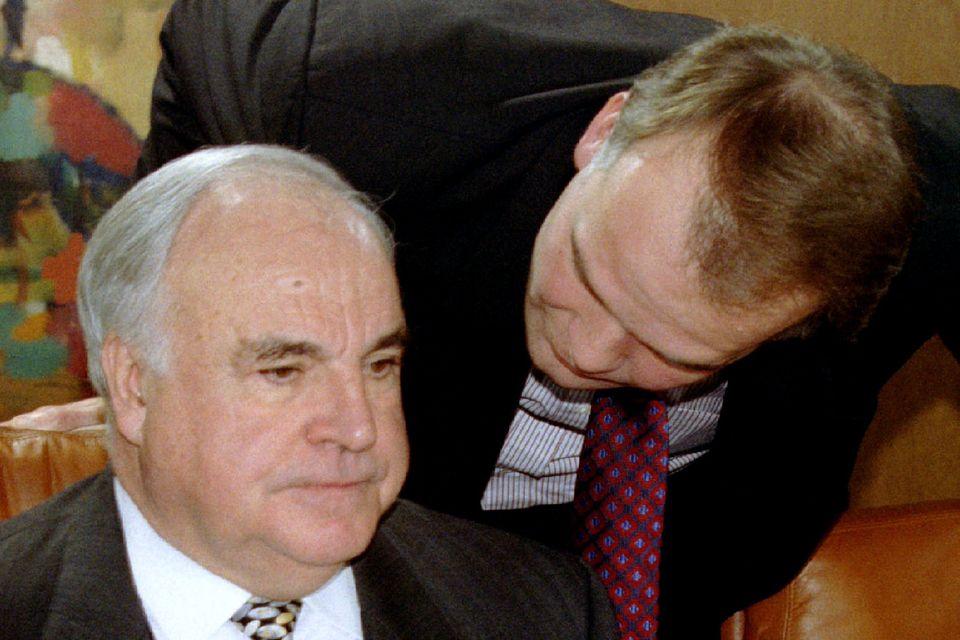 Andreas Fritzenkötter1991 bis 1995 Berater des damaligen Bundeskanzlers Helmut Kohl