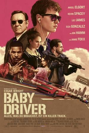 """Filmplakat zu """"Baby Driver"""" -    Kinostart am 27. Juli 2017"""