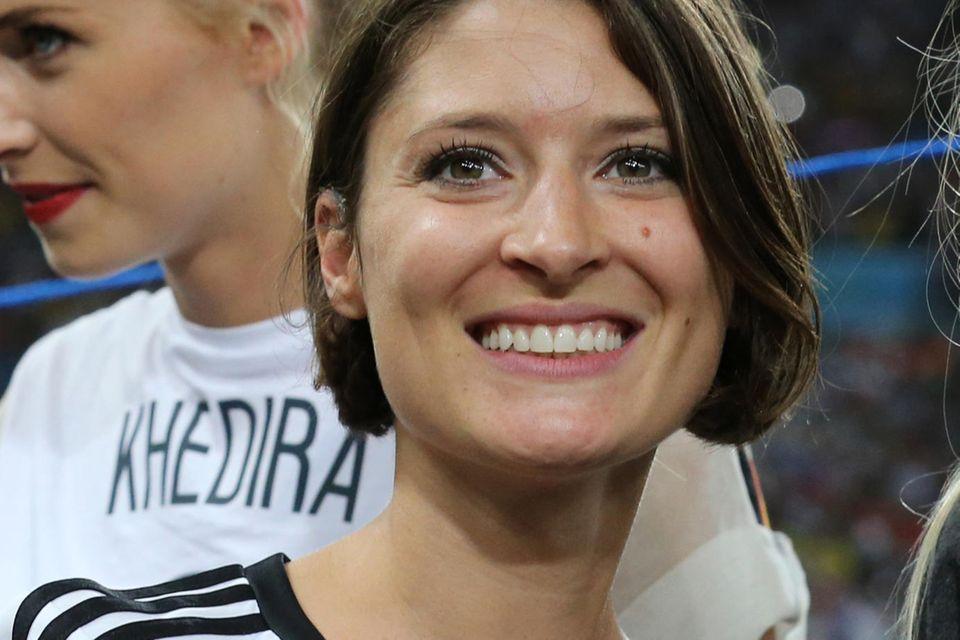 Kathrin Gilch bei derFussball WM 2014