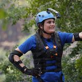 """Nadine Angerer (38), Fußball-Weltmeisterin  """"Ich bin ein sehr neugieriger Mensch, ich liebe Afrika - und alle neuen Herausforderungen. Ich mag zwar eine absolute Null sein, wenn es um Tanz und Rhythmus geht - aber in Sachen Kondition, Kraft und Mut bin ich vorne dabei -deshalb werde ich 'GlobaI Gladiator'!"""""""