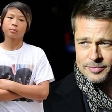 Pax Jolie-Pitt, Brad Pitt