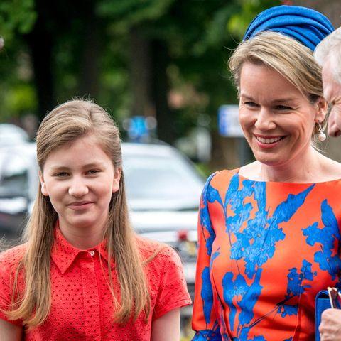 Prinzessin Elisabeth, Königin Mathilde, König Philippe
