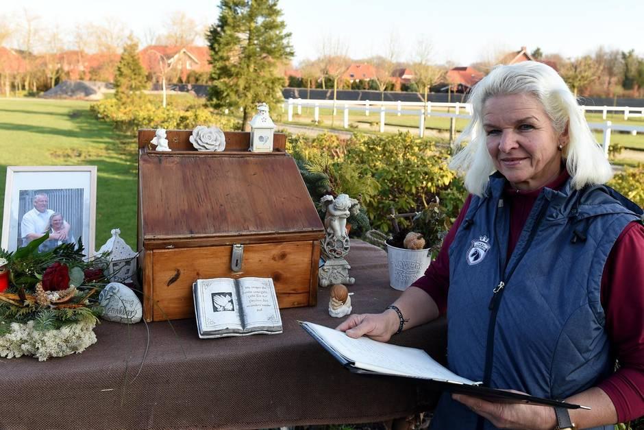 Tamme Hankens Witwe Carmen hält seine letzte Botschaft in Ehren