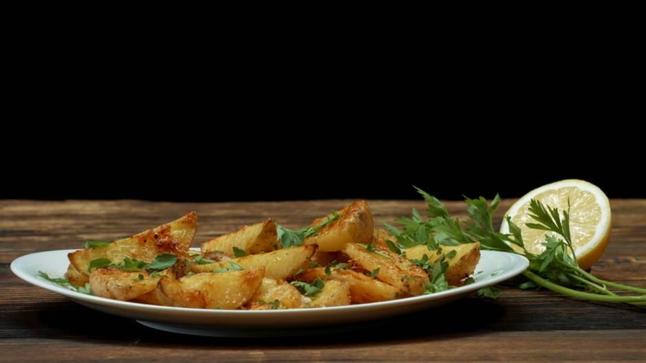 Parmesan-Zitronen-Wedges