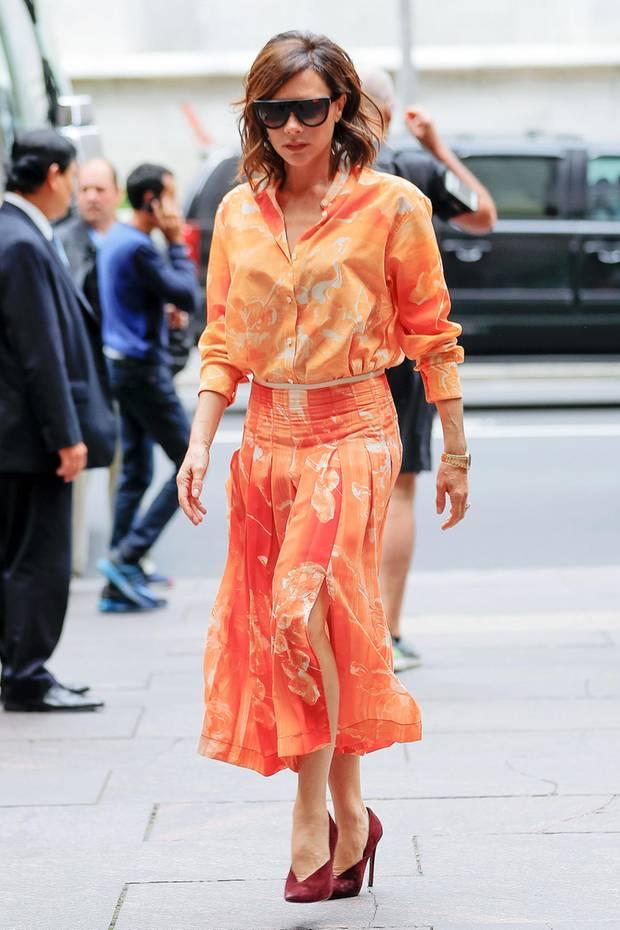 Victoria Beckham Ihre Sch Nsten Looks In Bildern S 39