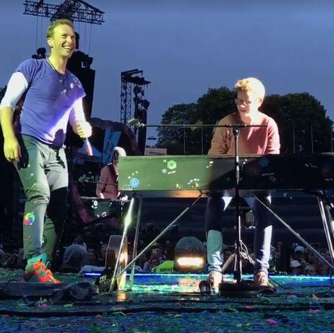 Chris Martin und Ferdinand Schwartz