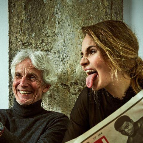 Elena Carrière, Mathieu Carrière