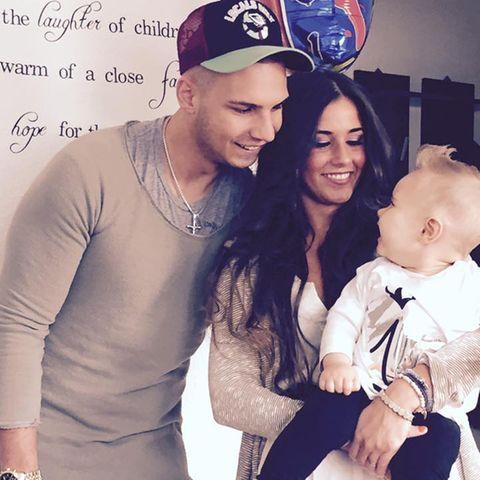 Pietro, Sarah und Alessio Lombardi im Juni 2016