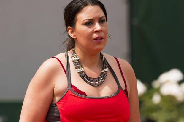 Marion Bartoli bei den French Open am 8. Juni 2017.