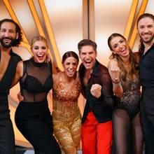 Massimo Sinató und Angelina Kirsch, Vanessa Mai und Christian Polanc sowie Ekaterina Leonova mit Gil Ofarim