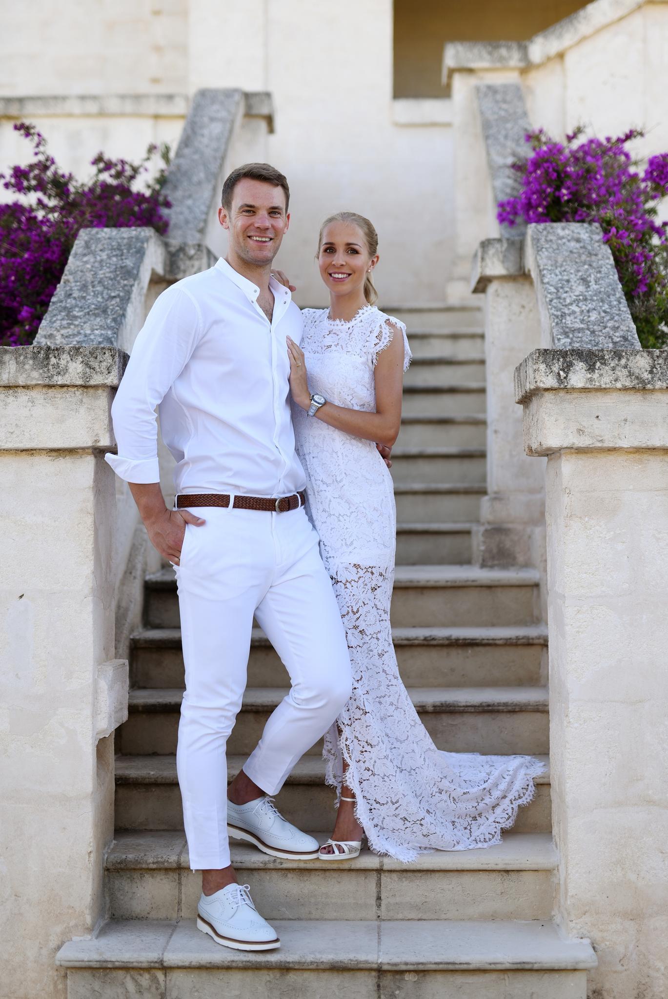 Manuel Neuer + Nina Weiss: So schön war ihre kirchliche Hochzeit in ...
