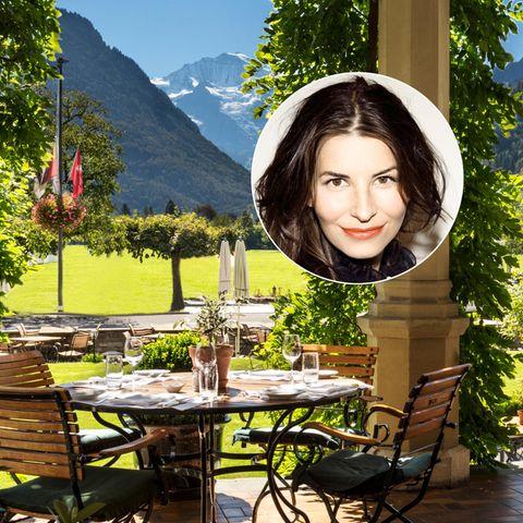 """Beauty Redakteurin Ariane Häusler testete das Programm """"Nescens"""" im """"Hotel & Spa Victoria Jungfrau"""""""