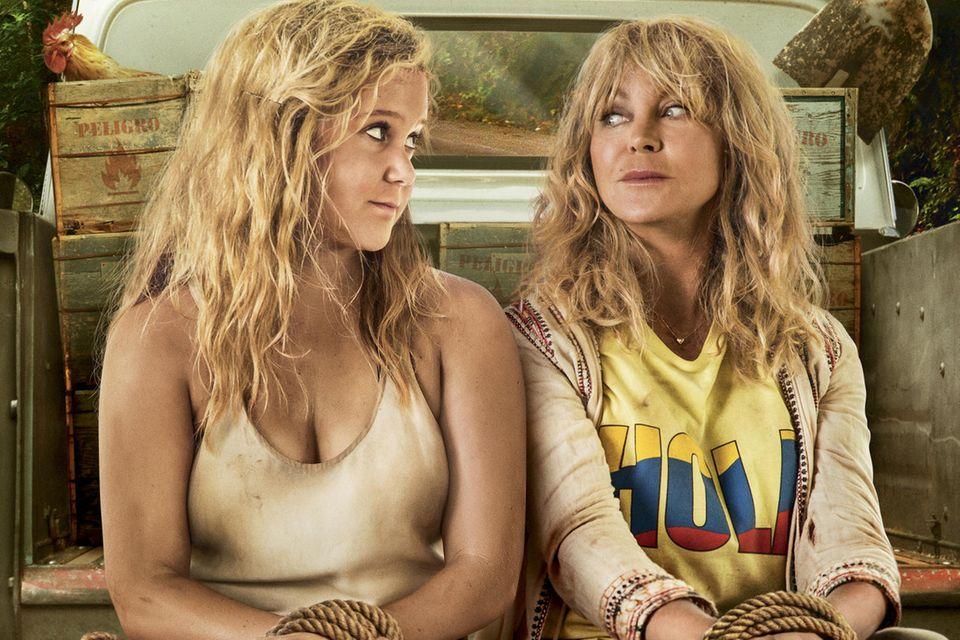 """Filmplakat zu """"Mädelstrip"""" mit Amy Schumer und Goldie Hawn"""