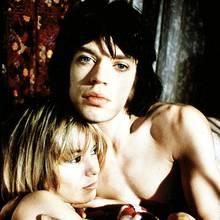 Anita Pallenberg (†), Mick Jagger