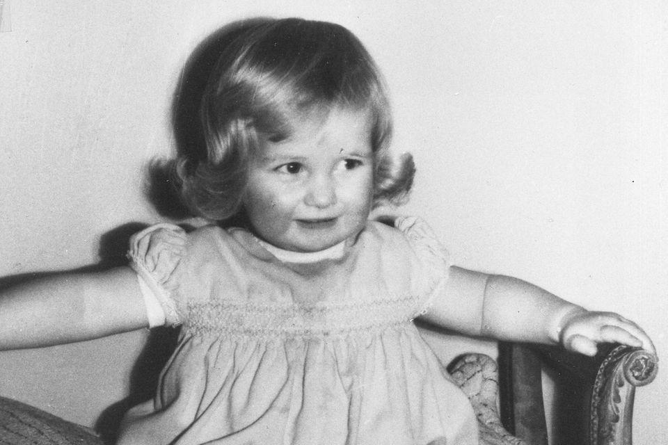 Prinzessin Diana als Kind