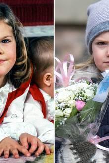 Prinzessin Victoria und Prinzessin Estelle  In der schwedischen Königsfamilie ähneln die Töchter meist ihren Müttern. Neben Prinzessin Madeleine und Tochter Leonore scheinen auch Prinzessin Victoria und Töchterchen Estelle wie aus dem Gesicht geschnitten.