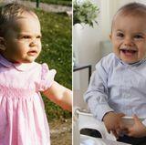 Prinzessin Victoria und Prinz Oscar  Auch an Söhnchen Oscar hat Prinzessin Victoria ganz offensichtlich ihr Aussehen weitergegeben. Im zarten Alter von einem Jahr hat sie genau die Gesichtszüge wie der kleine Oscar an seinem ersten Geburtstag.