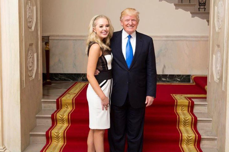 Tiffany Trump, Donald Trump