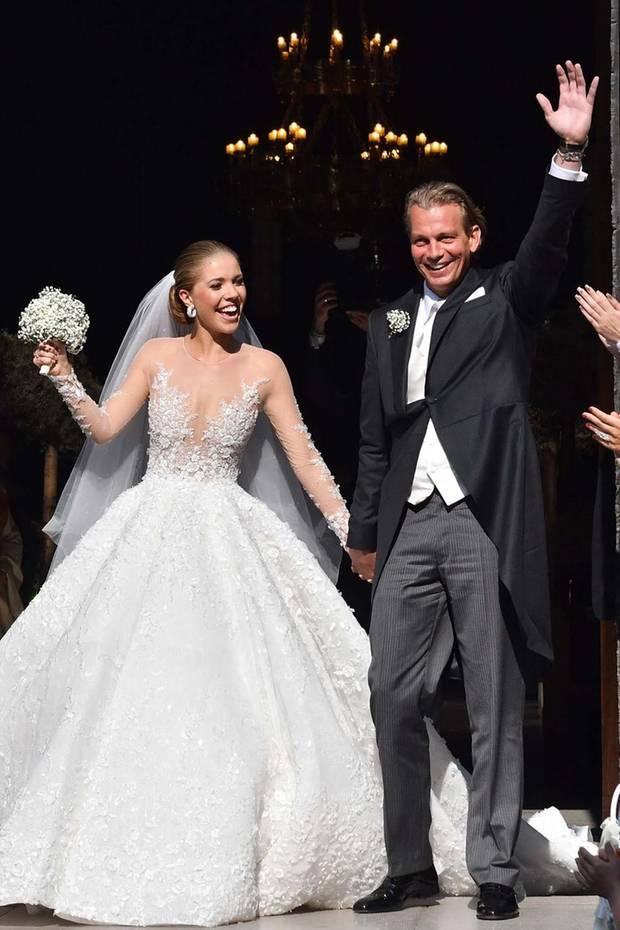 Heiraten Ja Sie Wollen Stars Und Ihre Hochzeitsbilder S 30