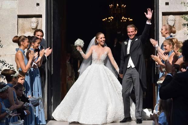 Victoria Swarovski Die Schönsten Fotos Ihrer Hochzeit S 5 Galade