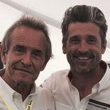 Auch ein McDreamy hat einen Vater. Patrick Dempsey veröffentlichte diesen schönen Schnappschuss von sich und seinem Dad auf Instagram