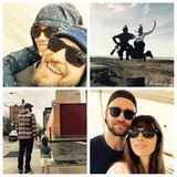 """Jessical Biel postet zum Vatertag eine Collage mit Schnappschüssen von sich und Ehemann Justin Timberlake und ein bezauberndes Foto, das Justin und den zweijährigen Sohn Silas Hand in Hand beim Spaziergang zeigt. Sie schreibt"""" Wie Silas so schön sagt: Du bist so viel cool!"""" Hach!!"""
