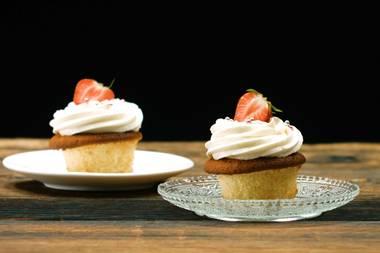 Cupcakes mit Schwips: Diese Champagner-Cupcakes sind ein Grund zum Feiern