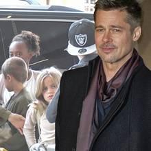 Angelina Jolie +Shiloh +Zahara+Vivienne, Brad Pitt