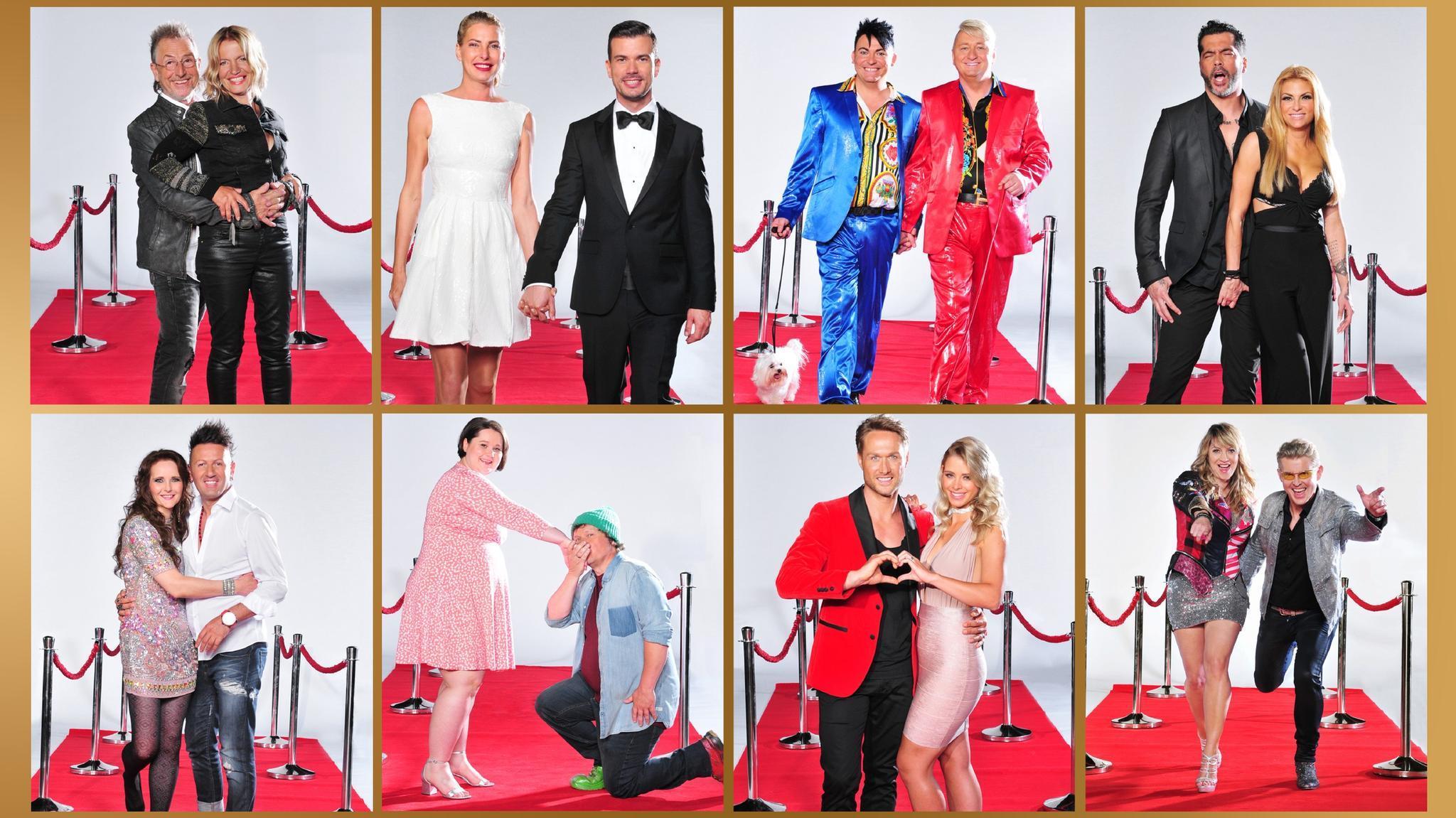 """Die Teilnehmer von """"Das Sommerhaus der Stars - Kampf der Promipaare"""""""
