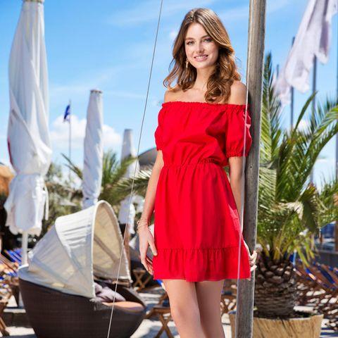 """GNTM-Gewinnerin und """"Gillette Venus""""-Model Céline Bethmann."""