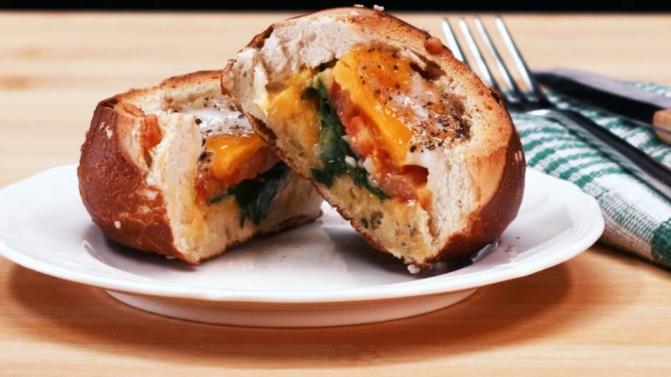 Frühstückstipp: Gefüllte Brötchen für den perfekten Start in den Tag