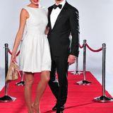 Model und DJane Giulia Siegel (42) und ihr Partner, der Gourmet-Koch Ludwig Heer (36).