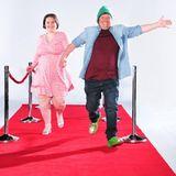"""TV-Schrottstar Manfred """"Manni"""" Ludolf (54) mit seiner offiziell zusammengeschweißten Frau Jana Ludolf (30)."""