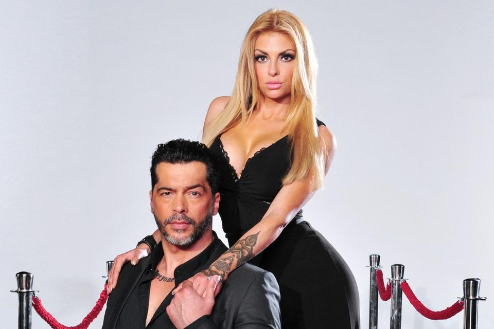 """Model und """"Bachelorette""""-Macho Aurelio Savinaund seine damalige Freundin Lisa Freidinger"""