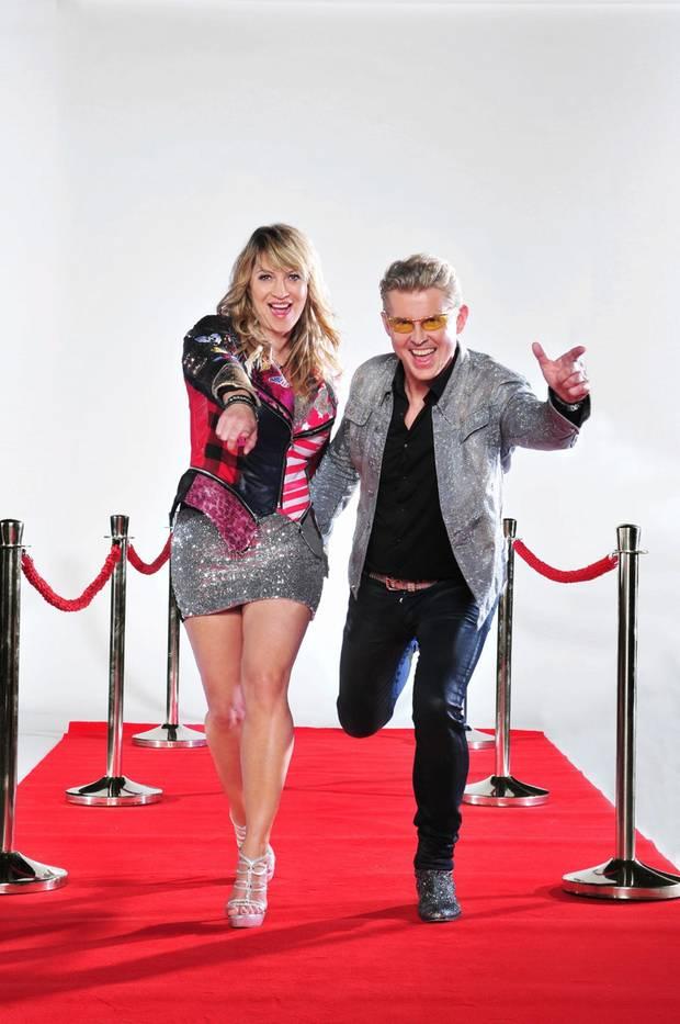 """NDW-Star und """"Ich will Spaß""""-Sänger Markus Mörl (57) mit Sängerin und """"Mallorca Queen"""" Yvonne König (46)."""