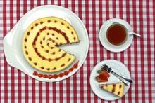 Mehr Sommer geht nicht: New York Cheesecake mit Erdbeertopping