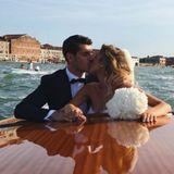 17. Juni 2017  Welcher Ort könnte für eine Hochzeit besser geeignet sein als Venedig, die Stadt der Liebenden? Genau, so gut wie keine. Daher verschlägt es den spanischen National-Kicker Álvaro Morata und Bloggerin Alice Campello im Juni 2017 nach Italien. Hier besiegeln sie ihre Ehe kurz nach der Trauung mit einem Kuss auf dem Canale Grande. Wie romantisch!