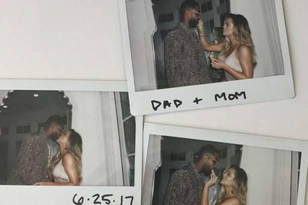 Mit diesen Bildern sorgt Khloé Kardashian für Verwirrung.