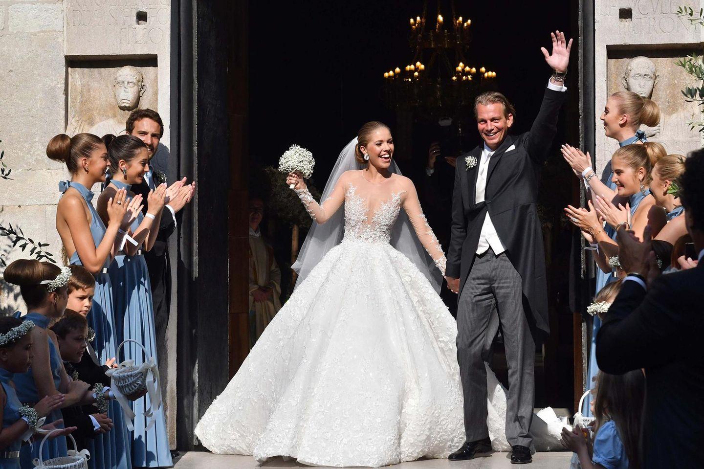 Luxus-Hochzeit: Die teuersten Brautkleider aller Zeiten  GALA.de