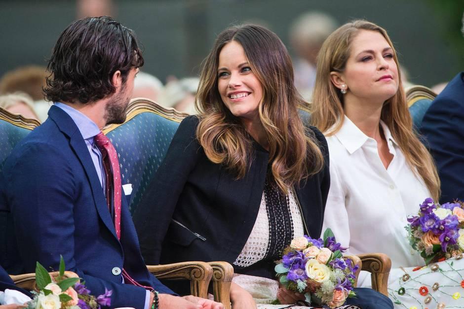Prinz Carl Philip, Prinzessin Sofia, Prinzessin Madeleine