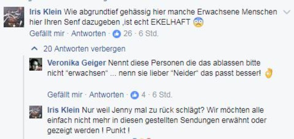 Mutter Iris Klein unterstützt ihre Tochter Jenny Frankhauser.