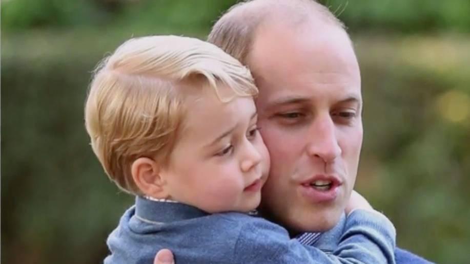 Prinz William: Foto mit Prinz George löst einen Skandal aus
