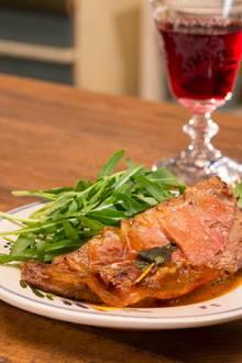 Italienische Kochkunst: Saltimbocca alla Romana