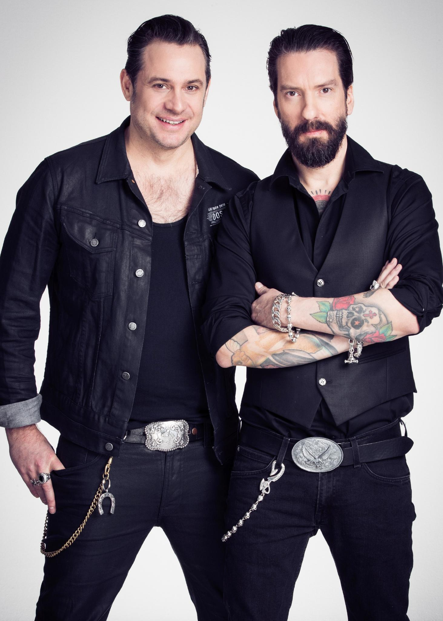 """Alec Völkel und Sascha Vollmer von """"The BossHoss"""""""