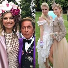Königin Máxima, Designer Valentino, Nicky Rothschild, Prinzessin Olympia und Paris Hilton
