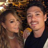 1. Juli 2017  Mariah Carey und Toyboy Bryan Tanaka bestaunen eine Weinsammlung im Wert von 24 Millionen Dollar. Der schönste Teil an dieser Erfahrung, so Tanaka, ist sie mit dieser wunderschönen Königin zu erleben.
