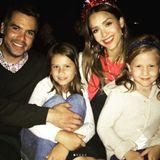 Jessica Alba, Cash Warren und ihre Kids feiern den 4. Juli.