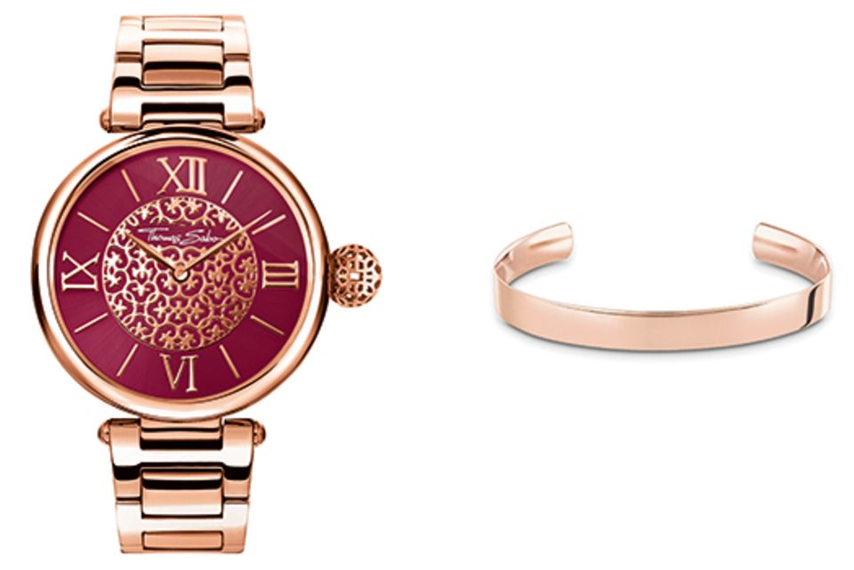 """Dieses tolle Schmuckset aus der """"Karma Watches""""-Kollektion von Thomas Sabo können Sie gewinnen."""