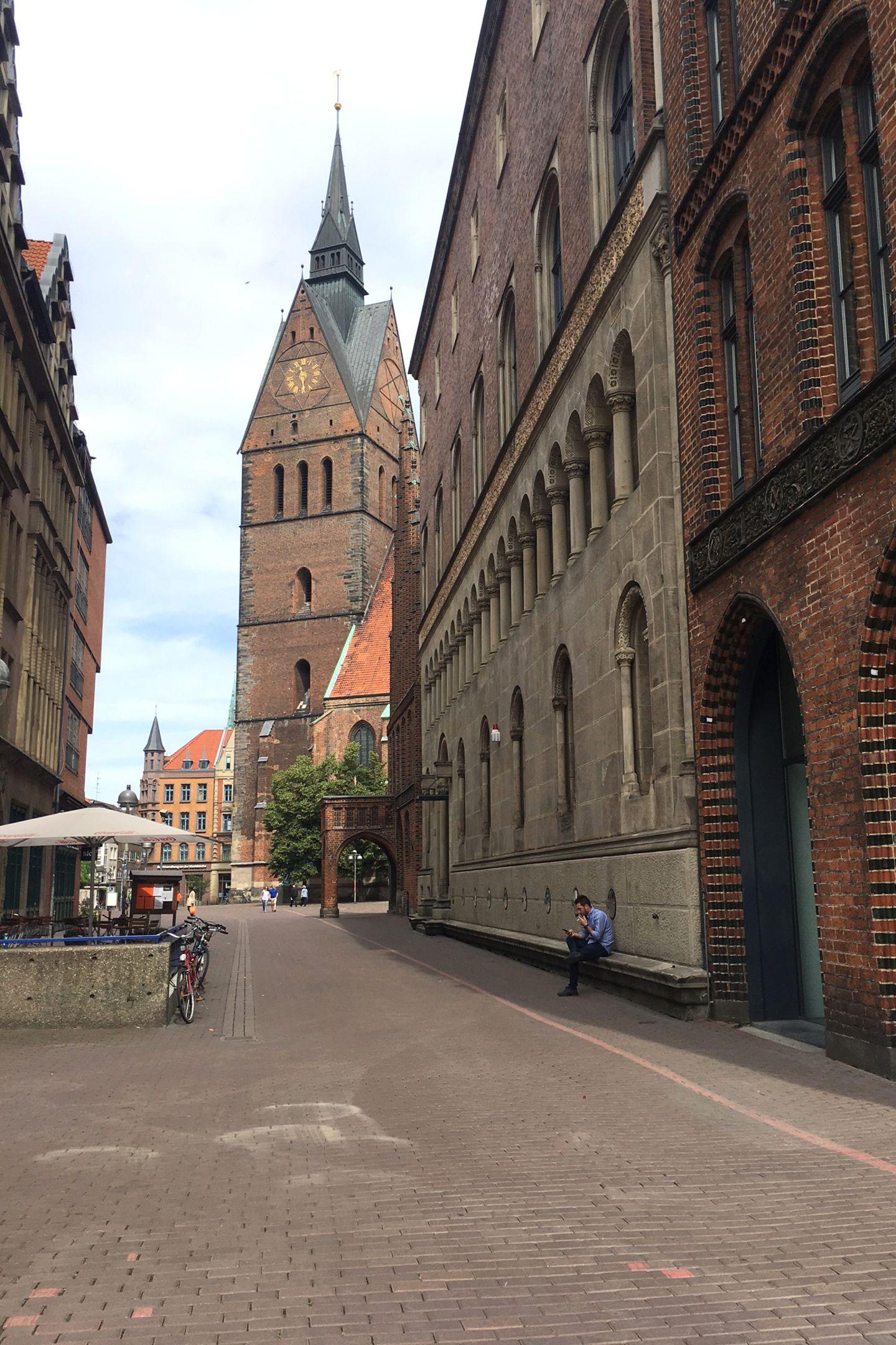 In der Marktkirche in Hannovers Altstadt wird am 8. Juli die kirchliche Trauung mit 600 geladenen Gästen stattfinden.